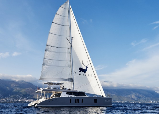 Luxury yacht BLUE DEER - Built by Sunreef
