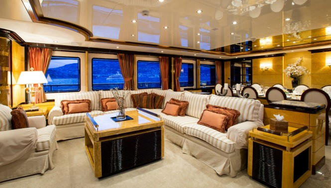 Luxury yacht DIANE - Main salon