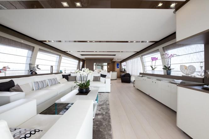 Luxury yacht JAG'B - Salon