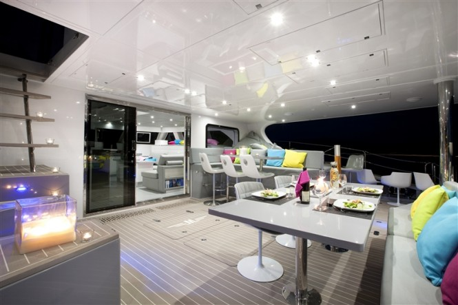 Luxury yacht MAVERICK - Aft Deck