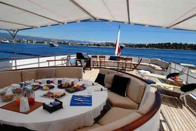 Luxury yacht SHAHA - Sundeck