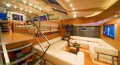 Luxury yacht YAMAKAY - Split-level salon