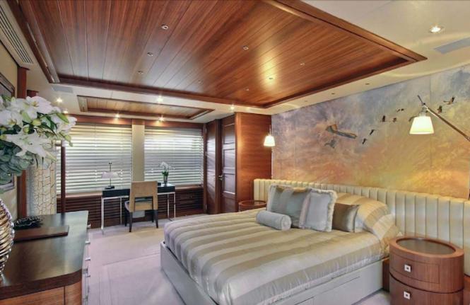 Motor yacht BALISTA - Master suite