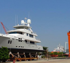 Explorer superyacht Nordhavn 9614 Launched in China