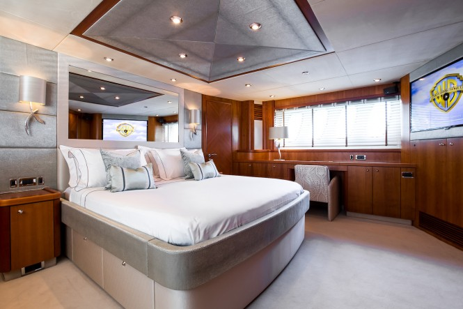 Open yacht BIANCINO - Master suite