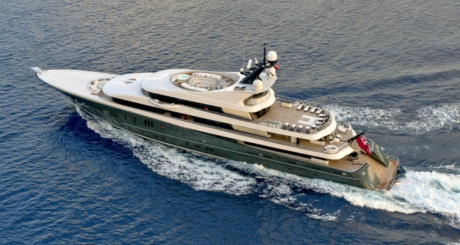 PHOENIX 2 aerial view - Photo credit Lurssen