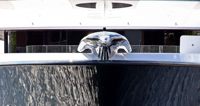 PHOENIX 2 front view detail - Photo credit Lurssen