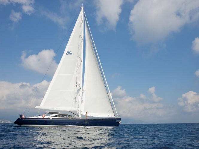 Pendennis sailing yacht NOSTROMO