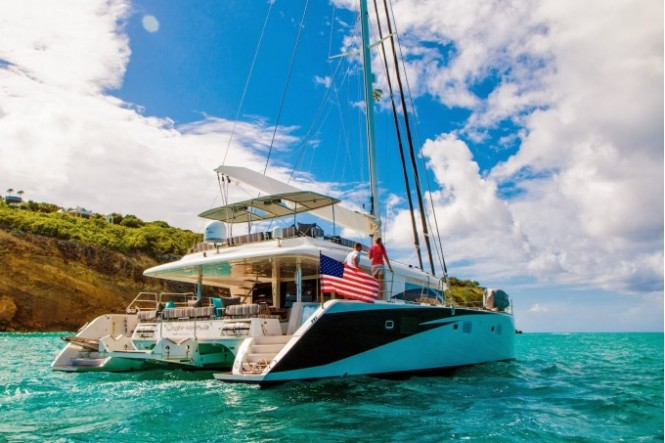 S/Y LADY KATLO - Built by Lagoon Yachts