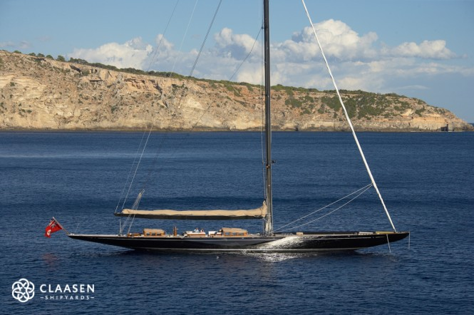 Sailing yacht LIONHEART - Built by Claasen Jachtbouw