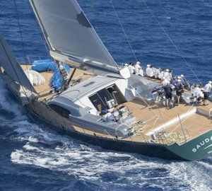 S/Y Saudade Wins Superyacht Class at the Loro Piana Superyacht Regatta 2017