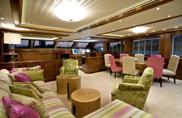 Superyacht CLEAR EYES - Salon