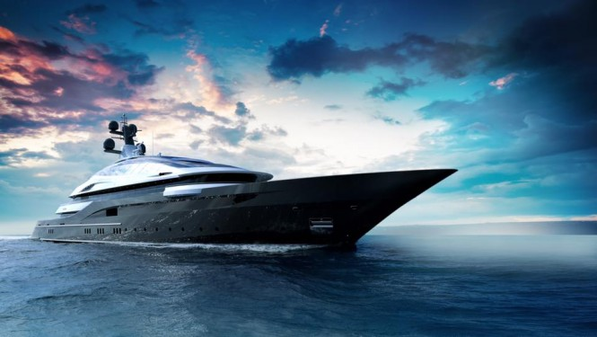 Superyacht Concept Cosmos. Photo credit Oceanco