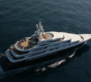Take a lavish charter in the Mediterranean aboard M/Y Freedom