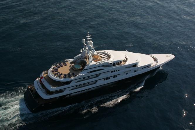 Superyacht FREEDOM (ex.REVERIE) - Built by Benetti