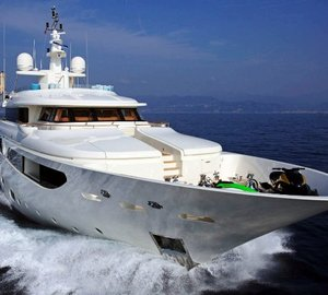 Special offer: Up to €50,000 off June Mediterranean charters aboard M/Y Hana