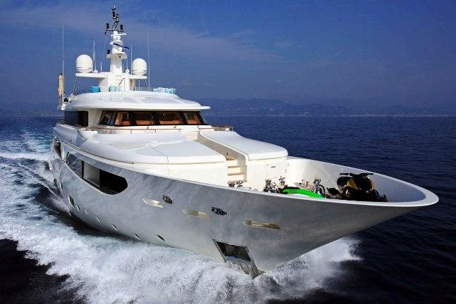 Superyacht HANA - Built by CRN Yachts