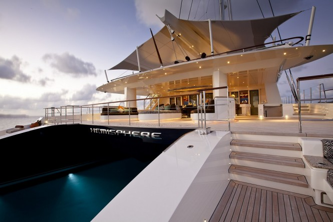 Superyacht HEMISPHERE - Built by Pendennis