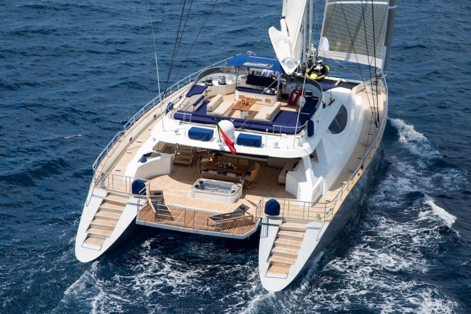 Superyacht HUTIANE - Built by Nuovo Arsenale Cartubi