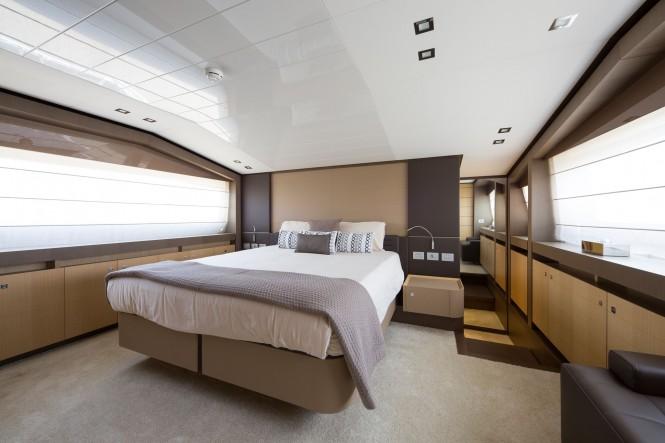 Superyacht JAG'B - Master suite