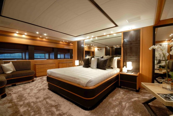 Superyacht PURE ONE - Master suite located on the main deck