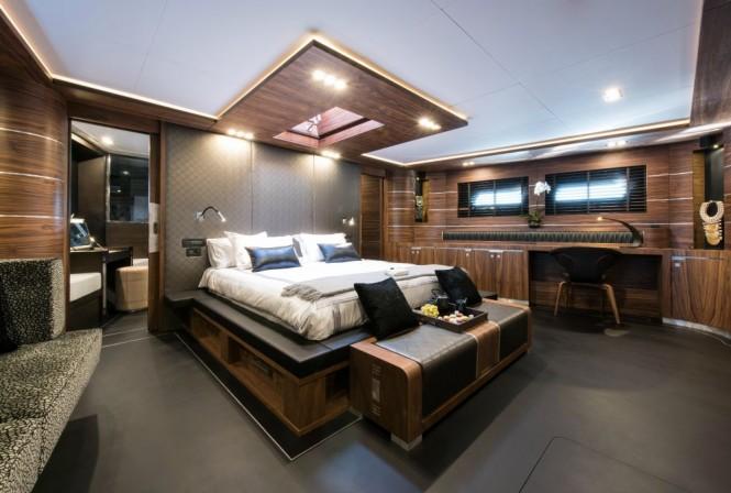 Superyacht ROX STAR - Master suite