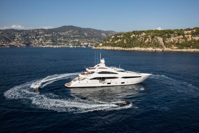 Superyacht THUMPER - Built by Sunseeker