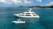 Superyacht TOUCH - Built by Louisbourg Yachts