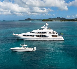 Go on an unforgettable Caribbean cruise with charter yacht Touch