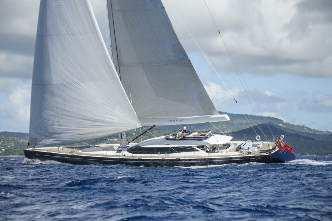 Superyacht TWILIGHT by Oyster Yachts - Last refitted in 2017
