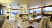 Superyacht XO OF THE SEAS - Formal dining area in salon