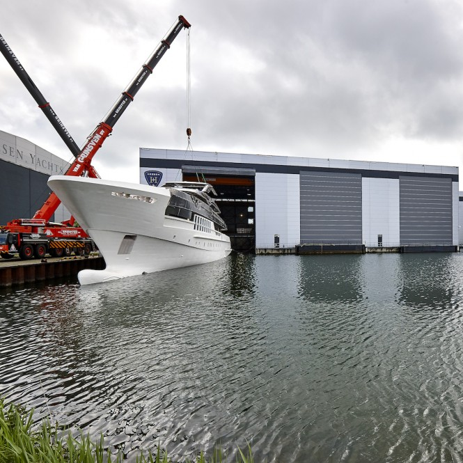 Heesen Yachts Project Antares, Hull HY18455