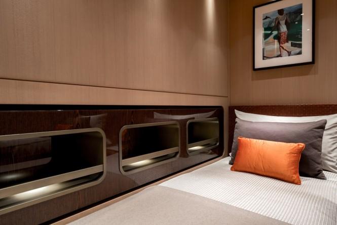VERTIGE twin guest cabin