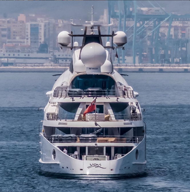 Yas. Photo credit @superyachts_gibraltar
