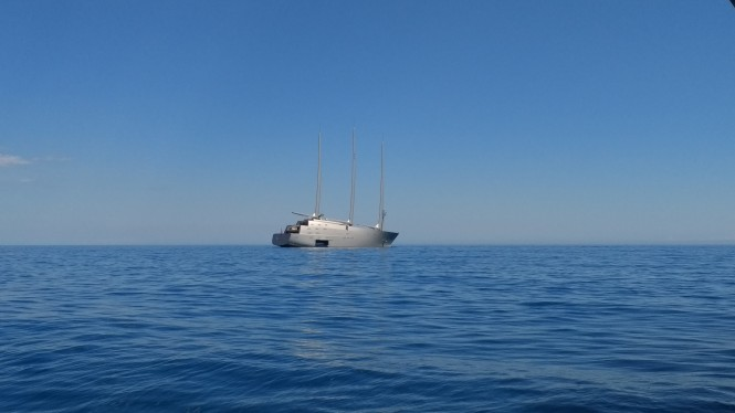 Sailing Yacht A. Photo Credit ChaterWorld