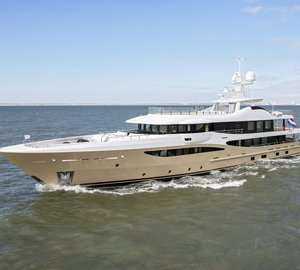 Amels delivers superyacht LILI in the Netherlands