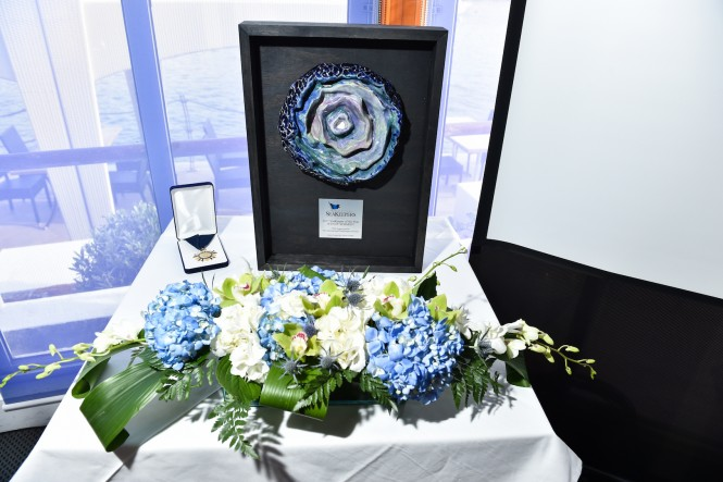 Award for Seakeepers Bermuda 2017 by Xavier Cortada