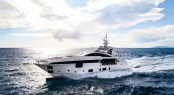 Azimut flagship, 'Azimut Grande' 35METRI will be attending the Monaco Yacht Show.