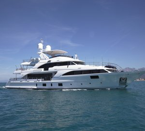 Benetti motor yacht Lady Lillian delivered to owner