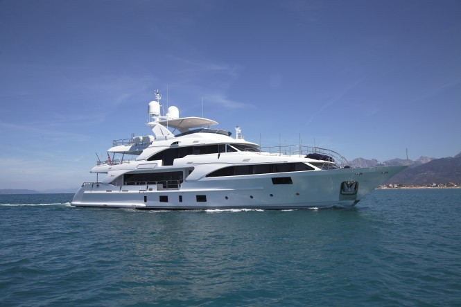 Benetti Classic 121' Lady Lillian delivered to owner mid-July