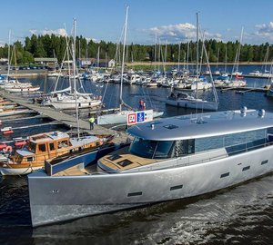 Motor Yacht Bill & Me Launched at Baltic Yachts