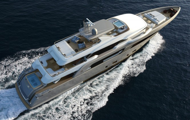 CRN 50m SUPERCONERO concept currently under construction