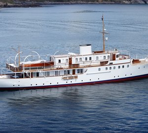 Charter classic 1937 superyacht Malahne in the Adriatic and South of France