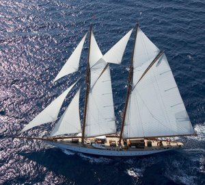 Classic S/Y Germania Nova available for Western Mediterranean charters