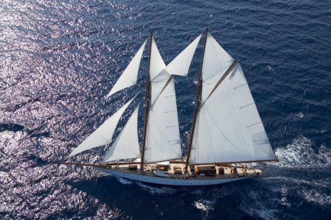 Classic sailing yacht GERMANIA NOVA - Built by Marin LuxurYachts