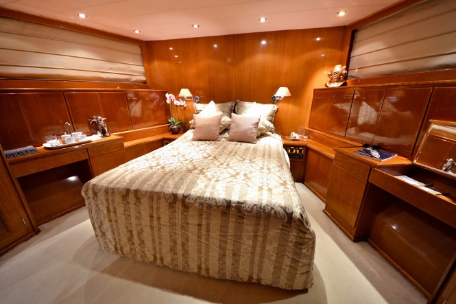 EVIDENCE master stateroom
