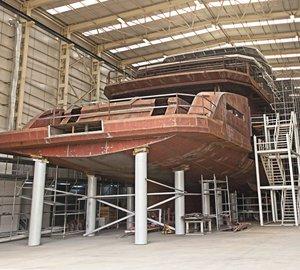 CCN YACHTS' 68m Explorer Yacht DAYS Proceeding to Schedule