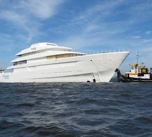 Video: 87m Feadship Superyacht Hull #700 Technical Launch