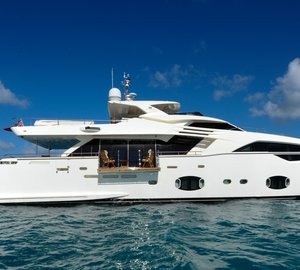 New On Charter Market: Ferretti Superyacht Amore Mio