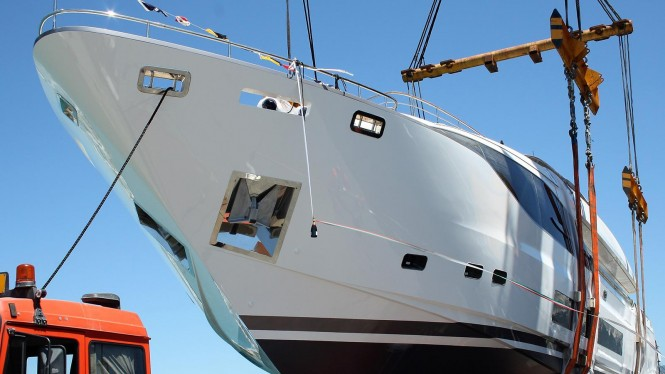 Fipa Group launched Maiora yacht Harmony